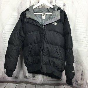 North Face Black 550 Down Puffer Coat L